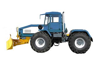 трактор с бульдозерным оборудованием